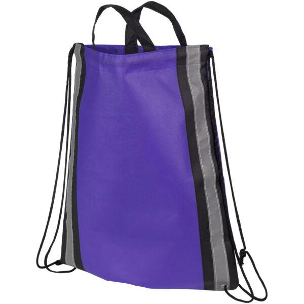 Reflective non-woven drawstring backpack (21072201)