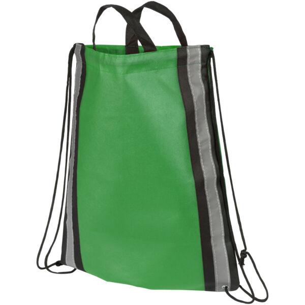 Reflective non-woven drawstring backpack (21072202)