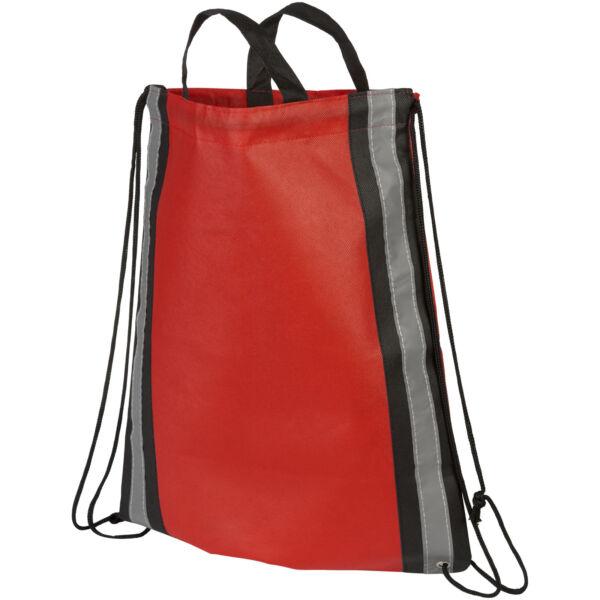 Reflective non-woven drawstring backpack (21072203)
