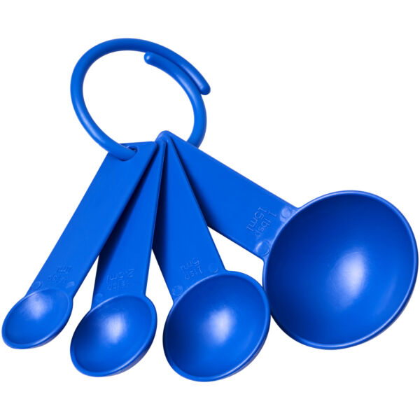 Ness plastic measuring spoon set with 4 sizes (21081800)