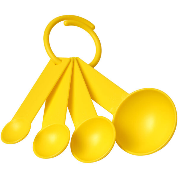 Ness plastic measuring spoon set with 4 sizes (21081805)