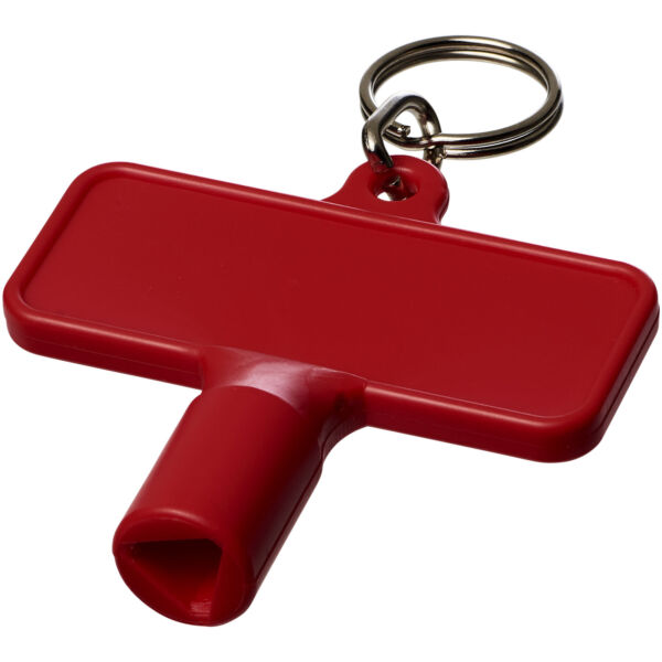 Maximilian rectangular utility key keychain (21087003)