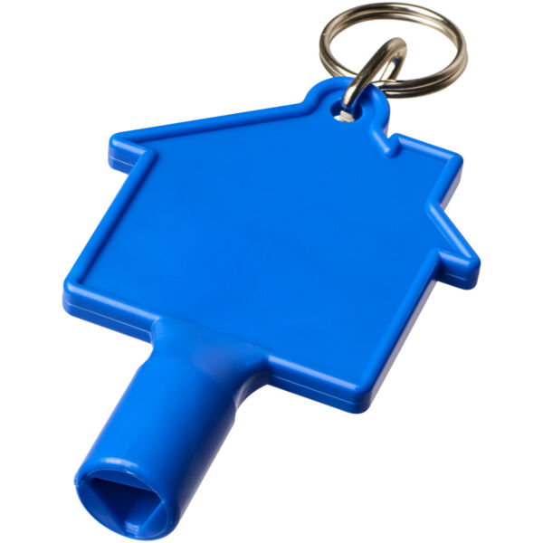 Maximilian house-shaped meterbox key with keychain (21087100)