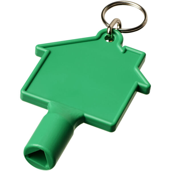 Maximilian house-shaped meterbox key with keychain (21087101)
