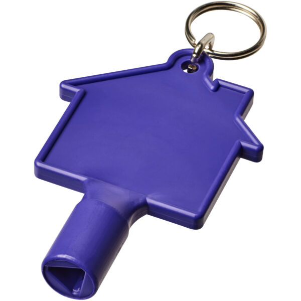 Maximilian house-shaped meterbox key with keychain (21087102)
