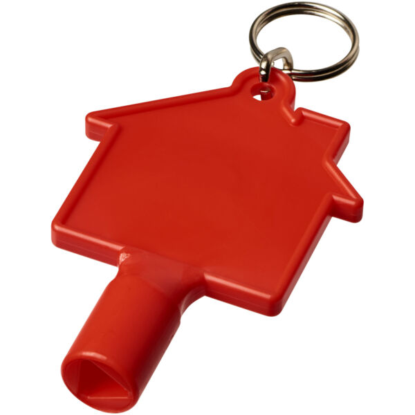 Maximilian house-shaped meterbox key with keychain (21087103)