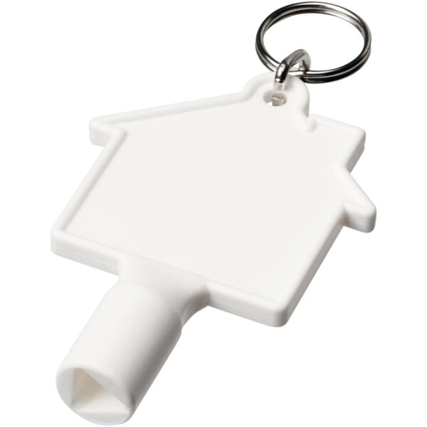 Maximilian house-shaped meterbox key with keychain (21087104)