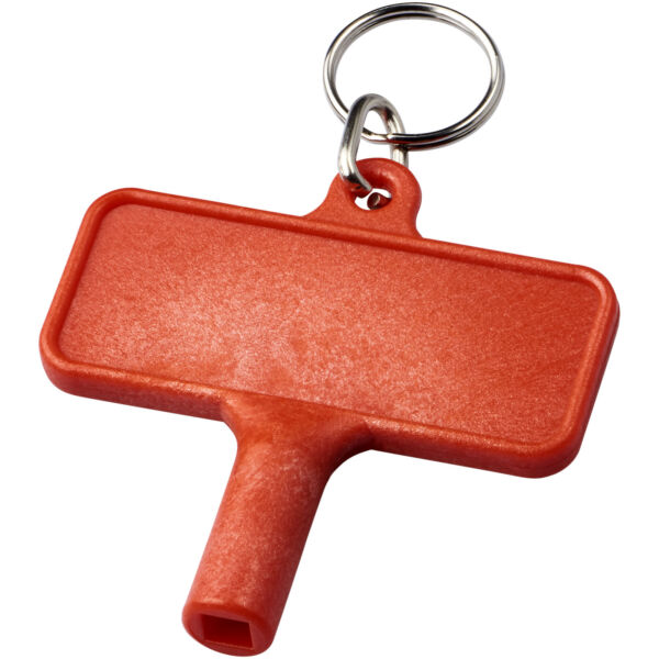 Largo plastic radiator key with keychain (21087202)