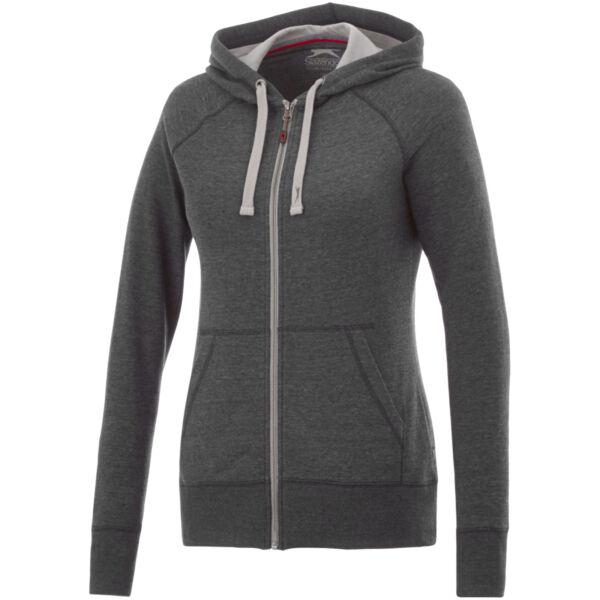 Groundie full zip ladies hoodie (33247974)