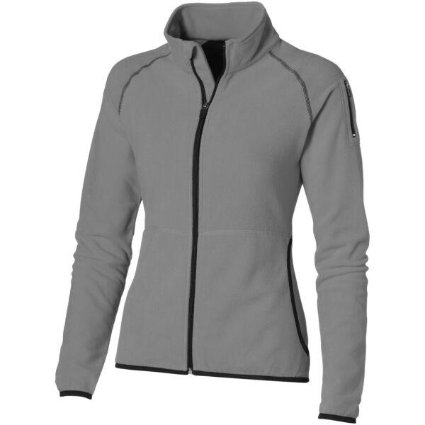 Drop shot full zip micro fleece ladies jacket (33487905)