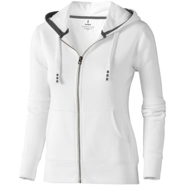 Arora hooded full zip ladies sweater (38212015)