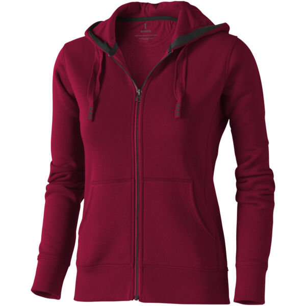 Arora hooded full zip ladies sweater (38212245)