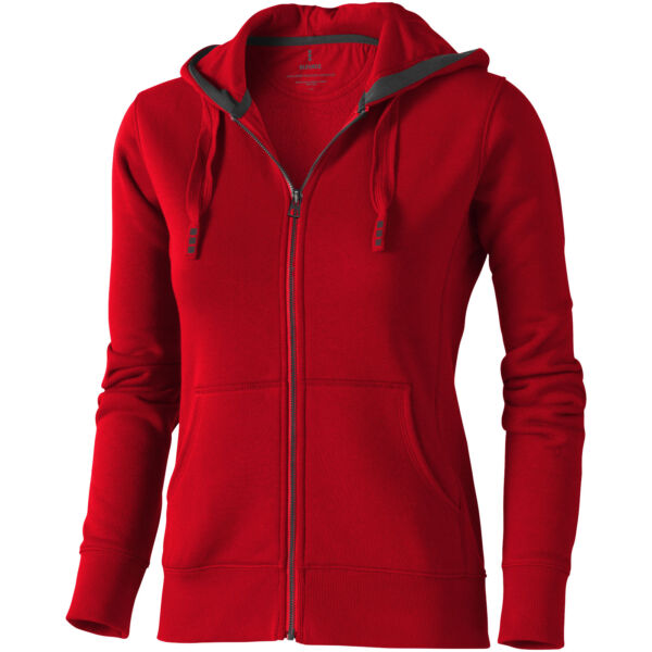 Arora hooded full zip ladies sweater (38212255)