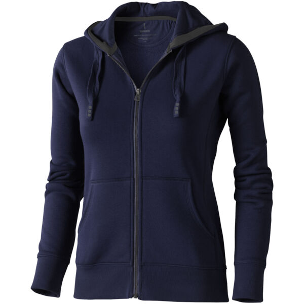 Arora hooded full zip ladies sweater (38212495)