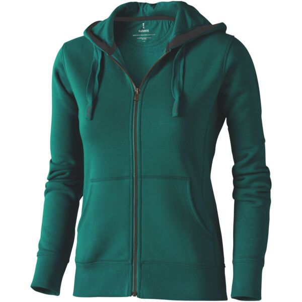 Arora hooded full zip ladies sweater (38212605)