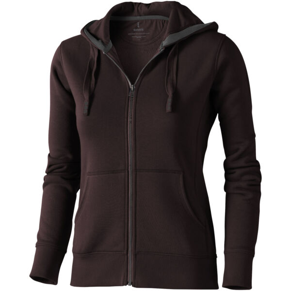 Arora hooded full zip ladies sweater (38212865)