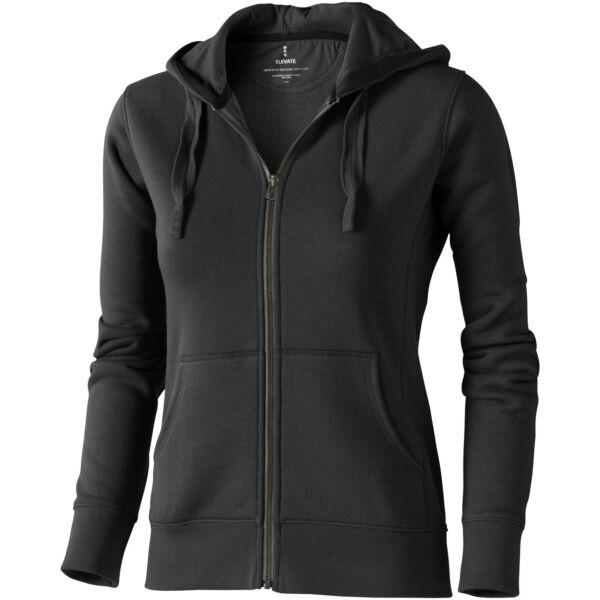 Arora hooded full zip ladies sweater (38212955)