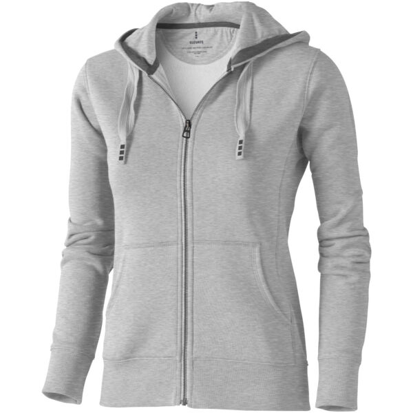 Arora hooded full zip ladies sweater (38212965)