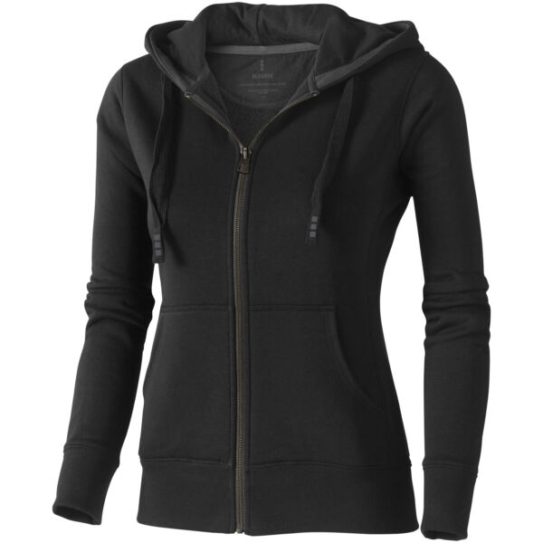 Arora hooded full zip ladies sweater (38212995)